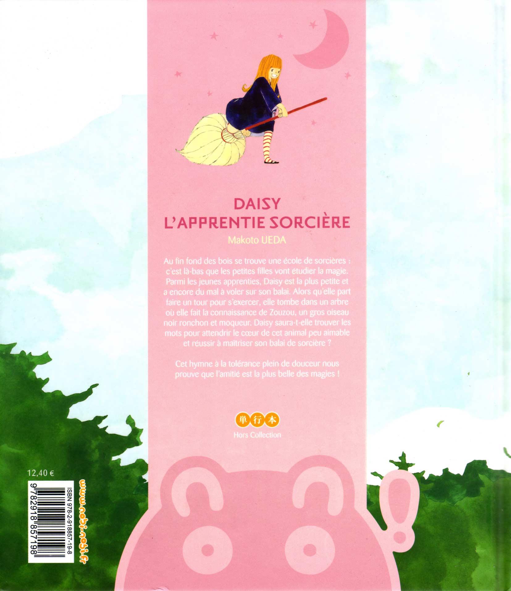 Daisy l'apprentie sorcière (quatrième de couverture)