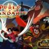 Couverture de la BD Warcraft : Perle de Pandarie avec Li Li et Bo