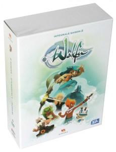 Packaging de la Box DVD Wakfu saison 2 avec la figurine de Goultard Krosmaster