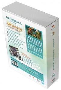 Dos du Packaging de la Box DVD Wakfu saison 2 avec la figurine de Goultard Krosmaster