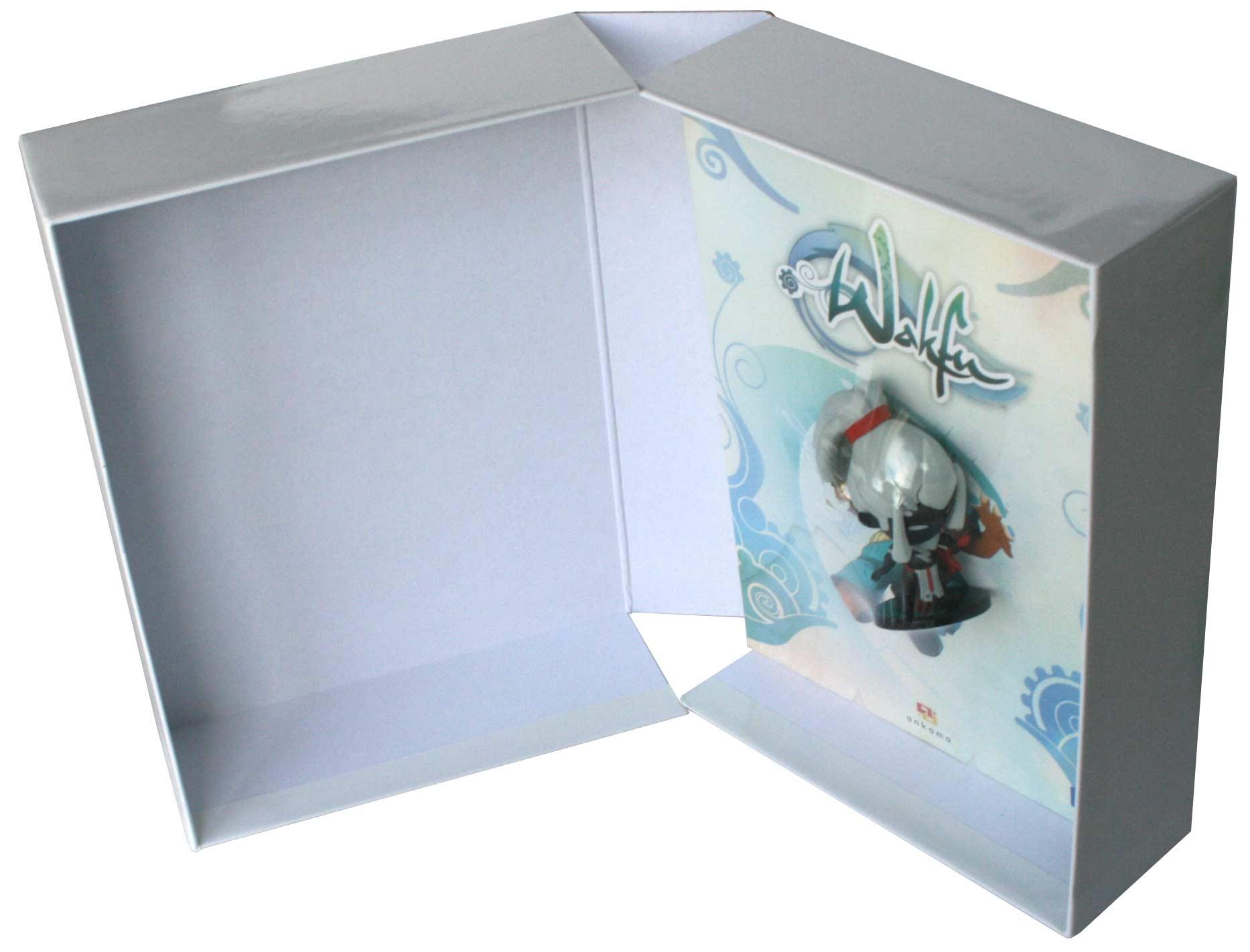 ouverture du Packaging de la Box DVD Wakfu saison 2 avec la figurine de Goultard Krosmaster
