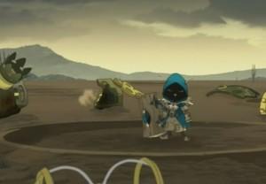 Joris a achevé le robot Razortemps