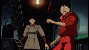 Kaneda vient de retrouver Kai suite à un attentat la suit afin de la draguer
