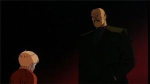 Le Colonel discute avec Takashi et les autres qui ont des pouvoirs psychiques
