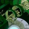 Tetsuo, blessé après évité Takashi, est soigné par les militaires qui vont découvrir qu'il a une aura proche de celle d'Akira