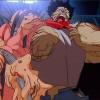 Tetsuo perd le contrôle de son pouvoir et la forme de son corps