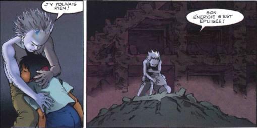 Tetsuo voit les derniers restes de l'énergie de Kaori disparaître