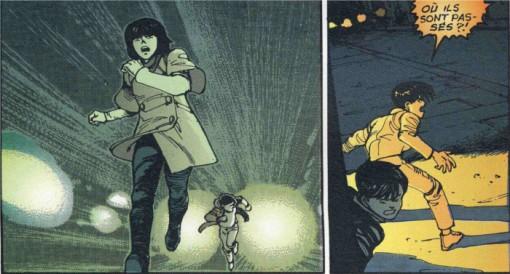 La bande de Kaneda poursuit Kay après qu'elle a eu son rendez-vous avec Ryu dans un bar malfamé
