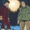 Tetsuo se rebelle face à Kaneda après l'accident de Tetsuo du à Takashi