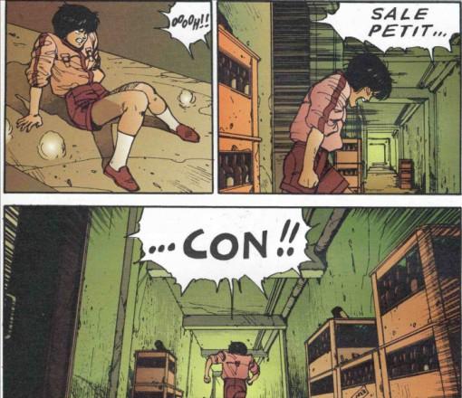 Kay en colère après que Kaneda lui ait joué 2 vilains tours comme voler son pistolet et l'enfermer dans sa chambre