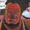Le chef des clowns est en colère au moment où Tetsuo prend contrôle de son gang