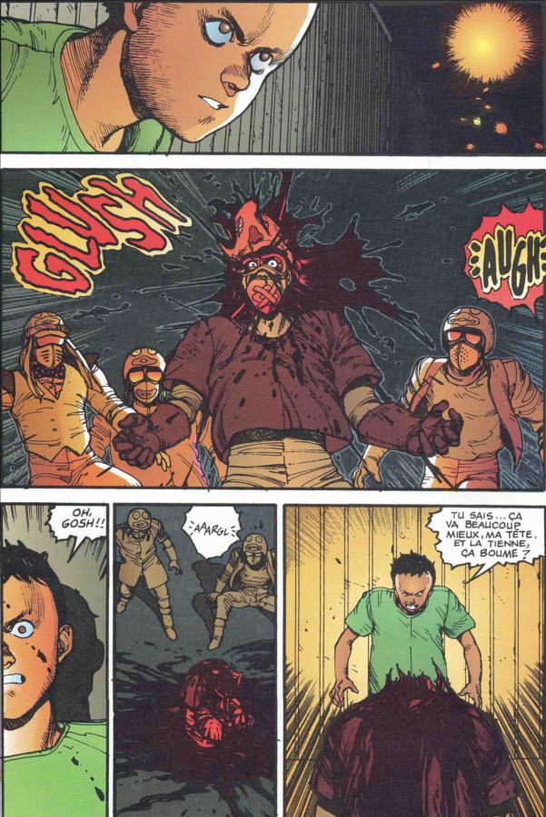 Page 3 du tome 2 d'Akira, version couleur