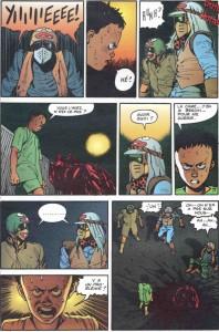Page 4 du tome 2 d'Akira, version couleur