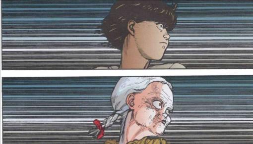 Kay possédée par Kioko face à Tetsuo
