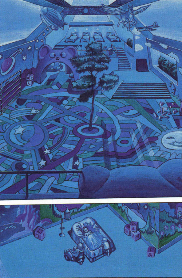 Page 1 (tome 3 d'Akira, version couleur)