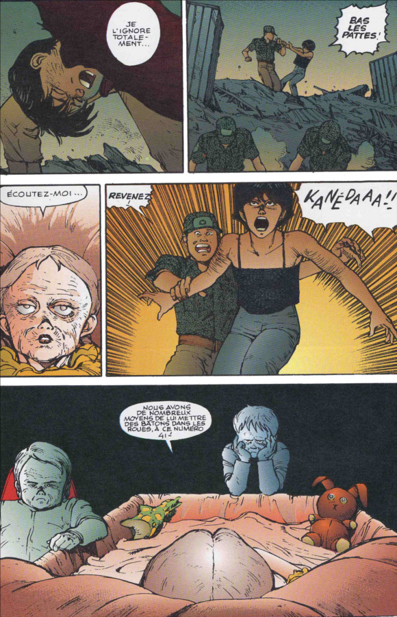 Page 4 (tome 3 d'Akira, version couleur)