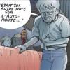 Tetsuo reconnaît Takashi, la cause de son accident en moto qui l'a conduit ici