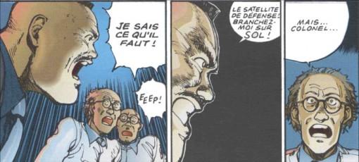 Le Colonel décide d'utiliser une station spatiale pour en finir avec les dangers liés à Akira et Tetsuo