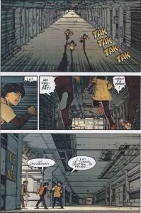 Page 1 du tome 4 d'Akira (version couleur)