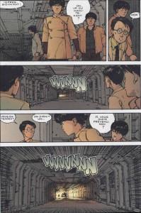 Page 2 du tome 4 d'Akira (version couleur)