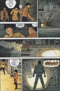 Page 4 du tome 4 d'Akira (version couleur)