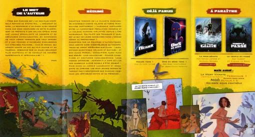 Flyer Piège sur Zarkass (dos)