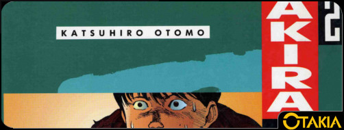 Header Otakia sur le tome 2 d'Akira (version couleur)