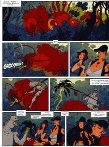 Page 2 de la BD Piege sur Zarkass Tome 1 : une chenille pour deux