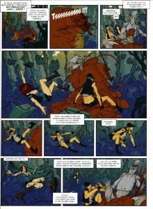 Page 3 de la BD Piege sur Zarkass Tome 1 : une chenille pour deux