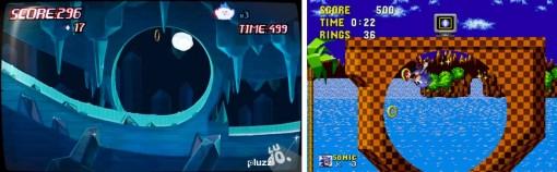Le looping avec les anneaux est un clin d'oeil à Sonic the hedgehog (Kerubim - Dofus)
