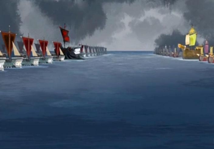L'amiral est prêt à attaquer Bashi