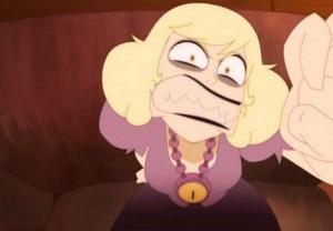 Hélène réagit violemment (Dofus - Kerubim)