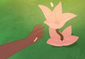 fleur rose de Crapaud Masqué (Dofus)