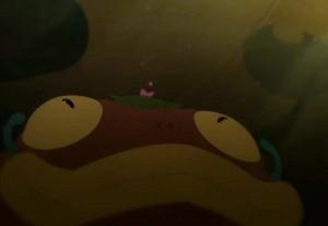 Le monstre avale Kerubim