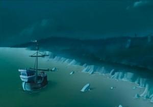 Kerubim débarque sur une île