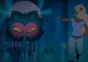 Le Moskito attaque Macra (Kerubim - Dofus)