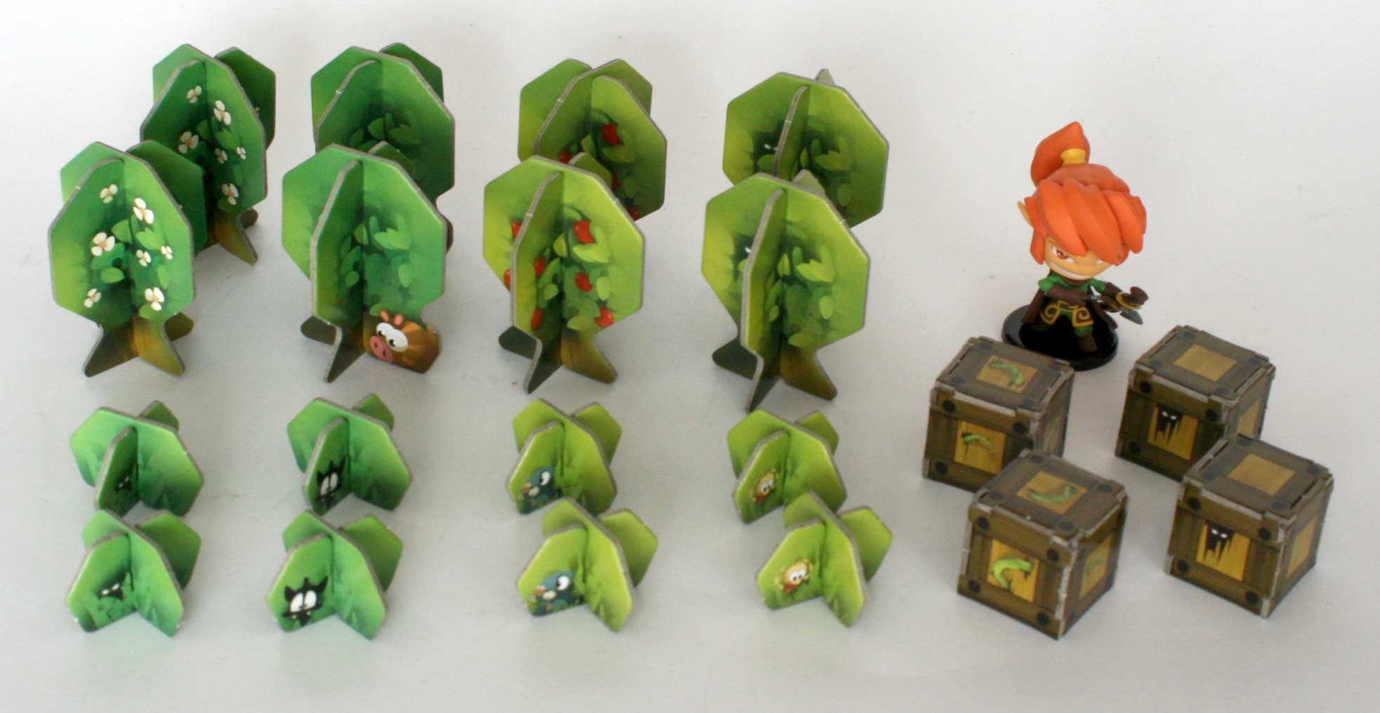 Krosmaster (arbres et buissons)