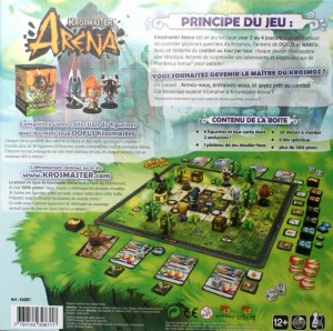 Dos du Packaging Krosmaster Arena
