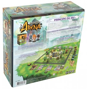 Krosmaster Arena dos packaging