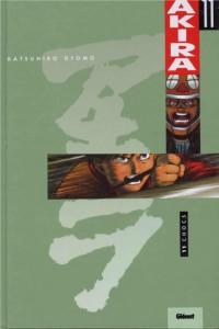 Couverture du tome 11 d'Akira, version couleur