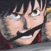 Kaneda va frapper Tetsuo au stade olympique