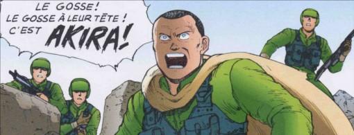 Les Américains atteignent Akira mais leur technologie n'est pas suffisante pour tuer Tetsuo