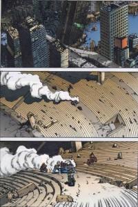 Page 2 du tome 11 d'Akira (version couleur)