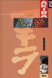 Couverture du tome 12 d'Akira, version couleur