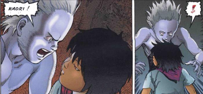 Kaori disparait après avoir été tuée par les hommes d'Akira