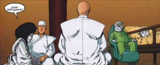Lady Miyako se prépare à combattre Tetsuo tandis que Masaru et Kioko rejoindront Akira