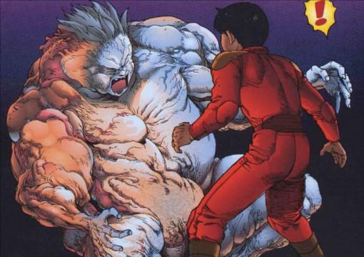 Tetsuo sans forme vs Kaneda