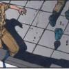 Le Colonel tente d'agir pour sauver ses hommes lors de la destruction de Neo Tokyo