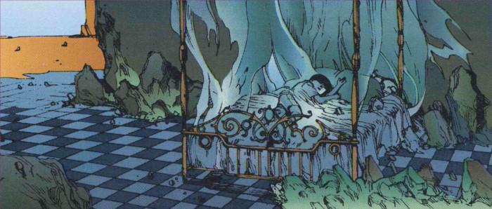 Akira dort calmement laissant d'autres gérer son empire