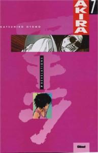 Couverture du tome 7 couleur d'Akira